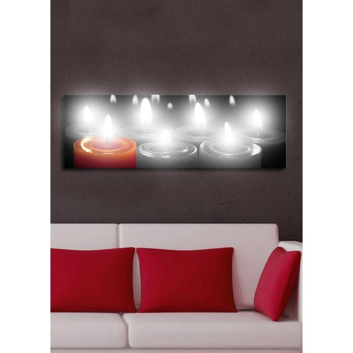 zg l led canvas tablo kd10 30 x 90 cm ku adas ev tadilat. Black Bedroom Furniture Sets. Home Design Ideas